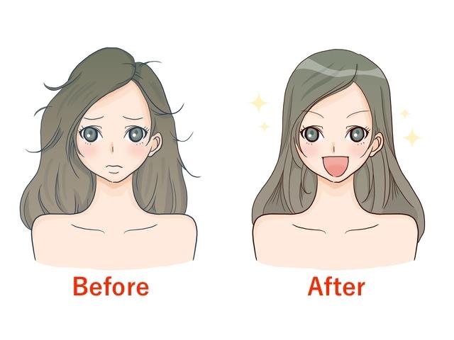 くせ毛を治す方法!ドライヤーのかけ方で1日の髪型がバッチリに!
