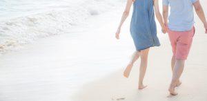 潮干狩り 砂浜