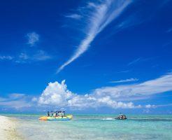 沖縄の10月は海で泳げるのか?