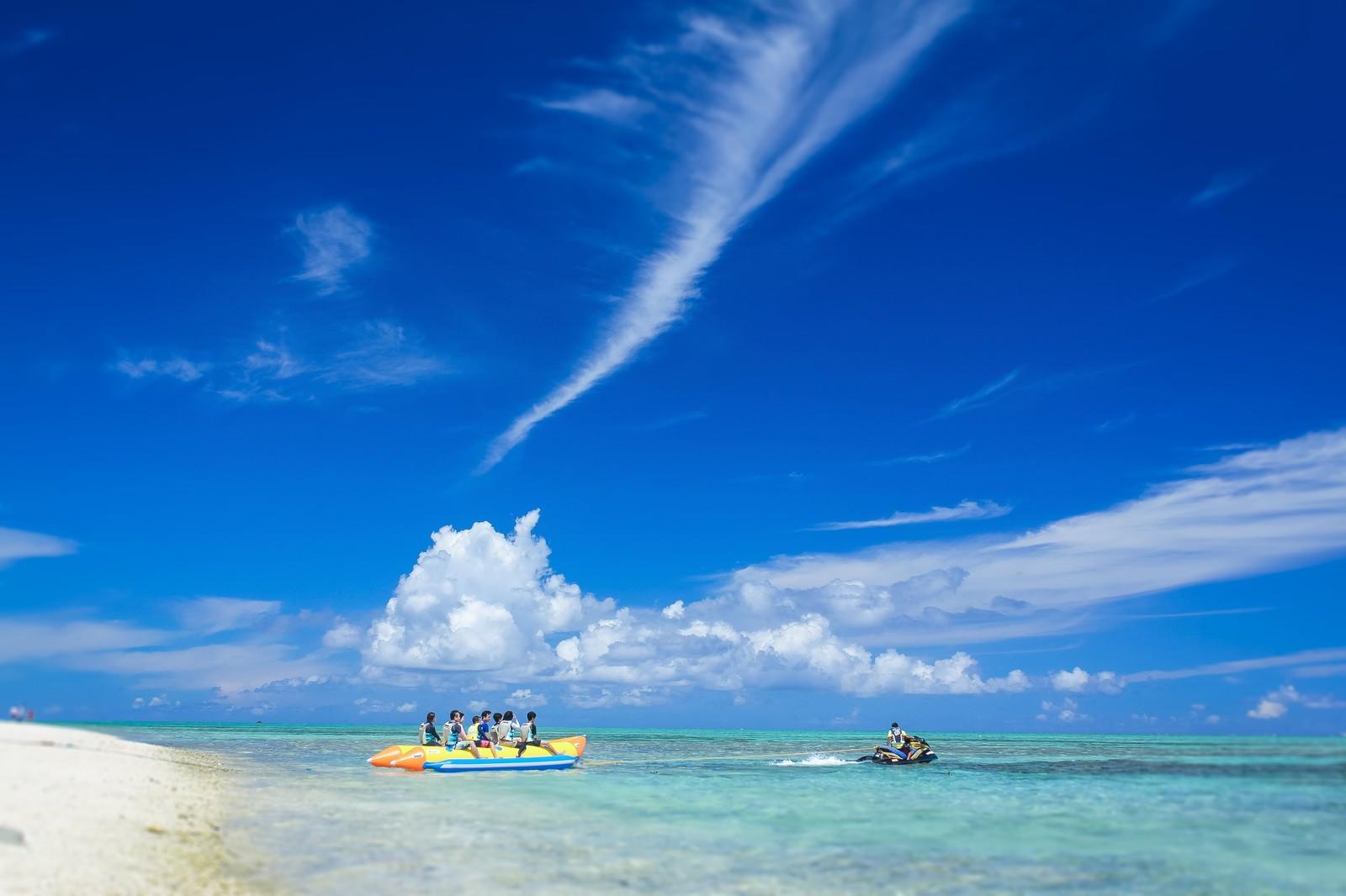 沖縄の10月は海で泳げます!水温や気候とおすすめのビーチ紹介!
