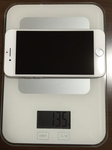 iPhone7は135g