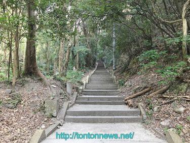 お遍路 弥谷寺 階段