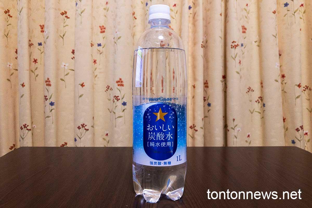 ポッカサッポロ おいしい炭酸水 1Lサイズ